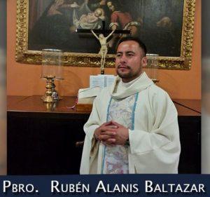 Padre Rubén Alanís Baltazar