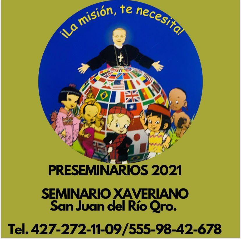 Seminario Xaveriano Preseminarios 2021