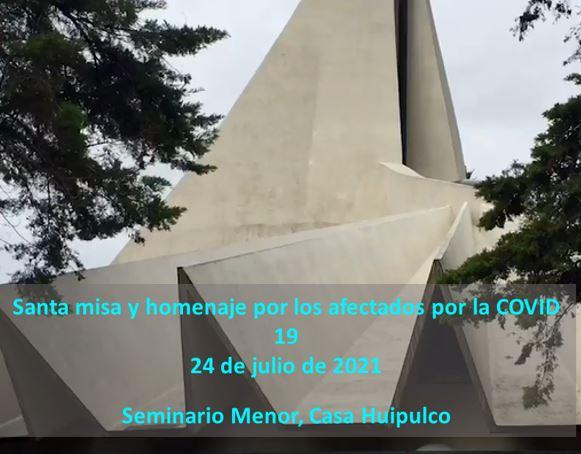 Misa y homenaje para los afectados por la COVID-19