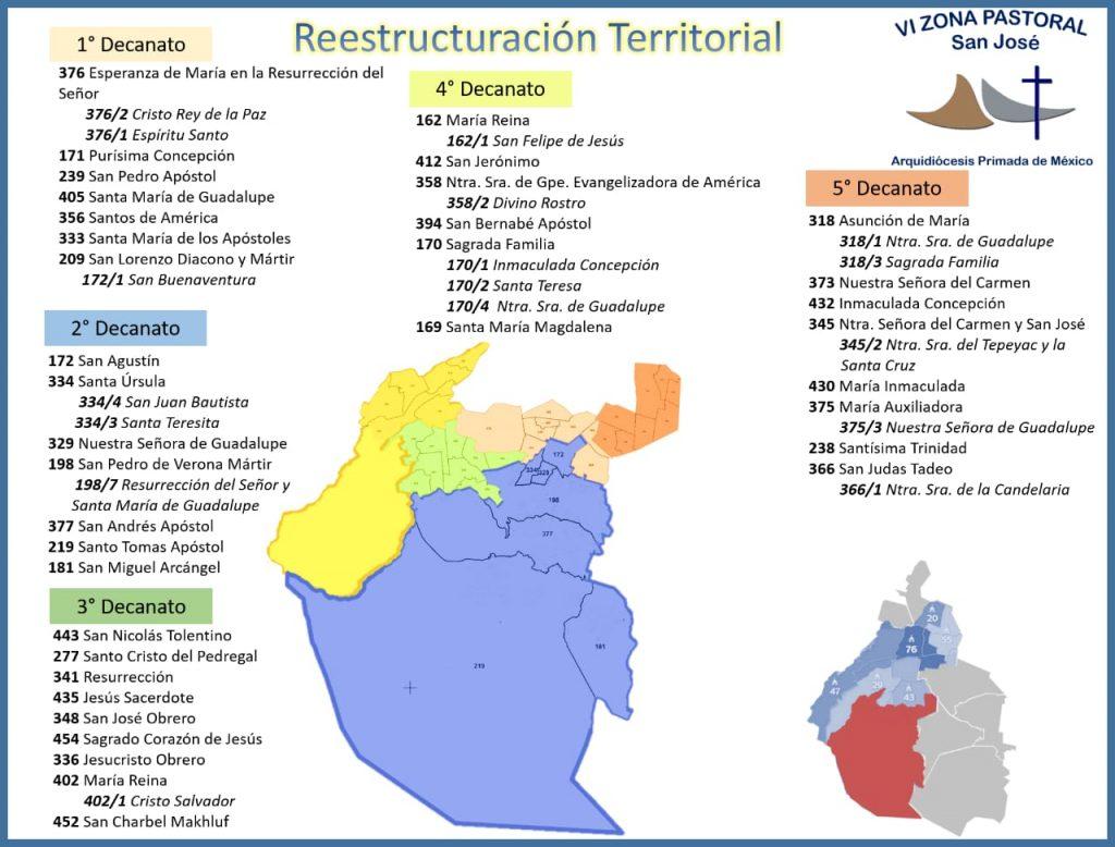 VI Zona Restructuración Territorial