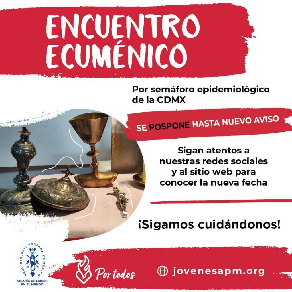 Encuentro Ecuménico Pospuesto